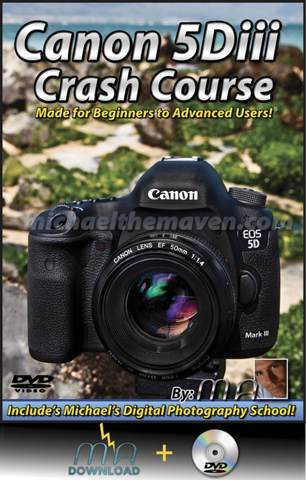 Canon 5D iii Crash Course DVD with Download