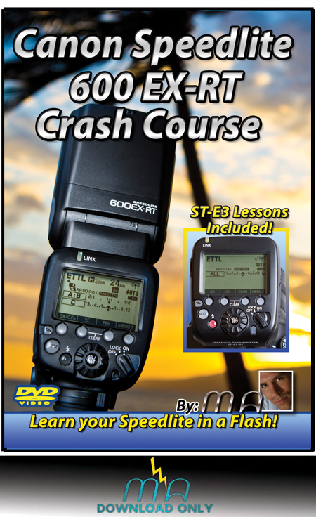 Canon 600EX-RT Speedlite Crash Course - Download Only