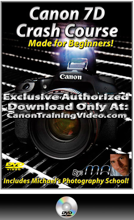 Canon 7D Crash Course Training Video DVD + Download [MTM-7DCC]