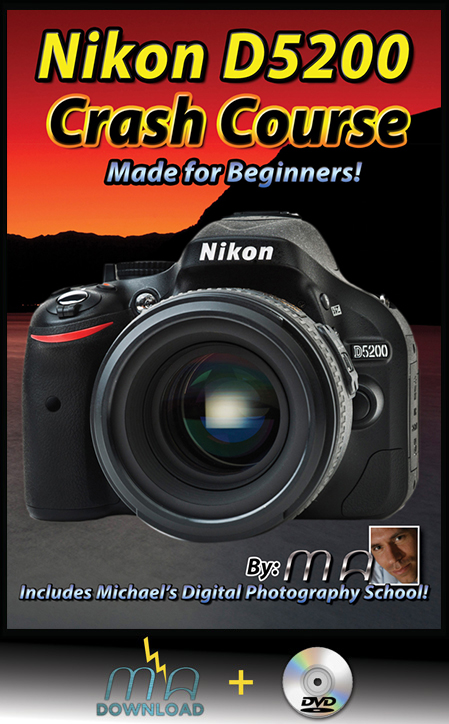 Nikon D5200 Crash Course - DVD & Download Combo