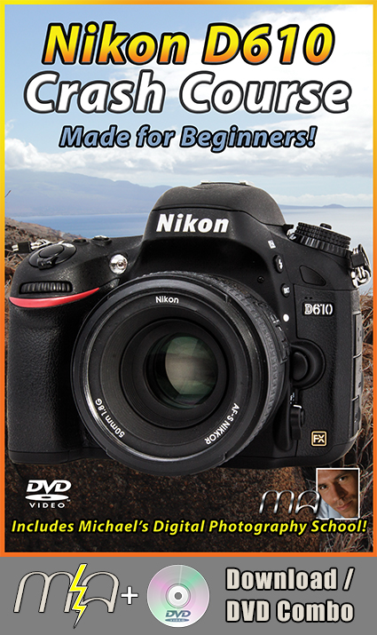Nikon D610 Crash Course DVD + Download Combo