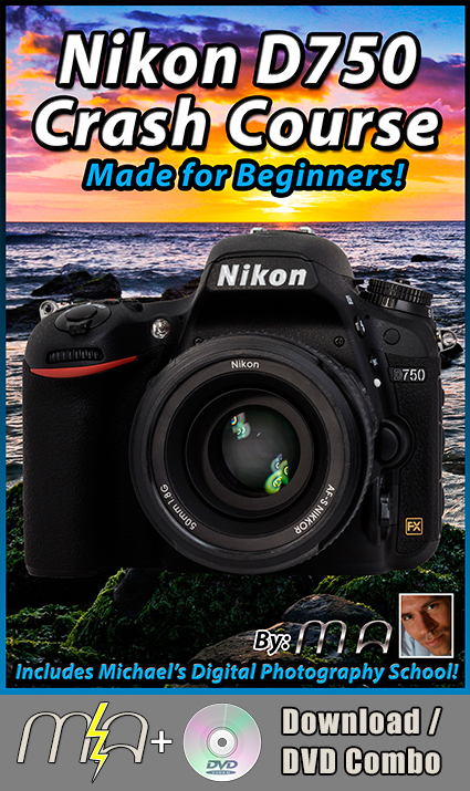 Nikon D750 Crash Course - DVD + Download