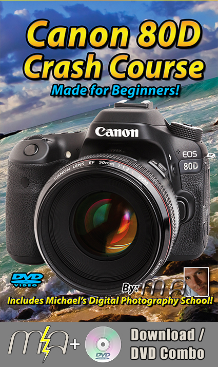 Canon 80D Crash Course Training Tutorial DVD + Download