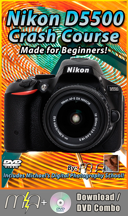 Nikon D5500 Crash Course DVD + Download