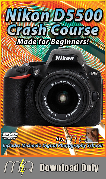 Nikon D5500 Crash Course - Download Only