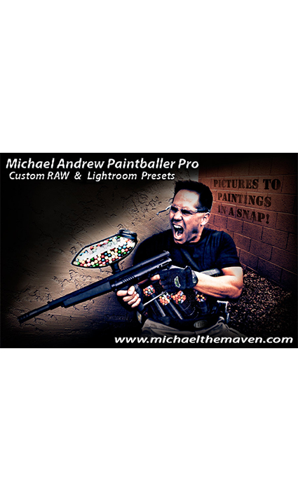 Michael Andrew Paintballer Pro RAW / Lightroom Presets