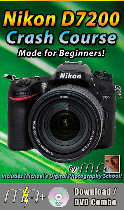 Nikon D7200 Crash Course - DVD + Download