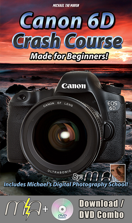 Canon 6D Crash Course Training Tutorial DVD With Download