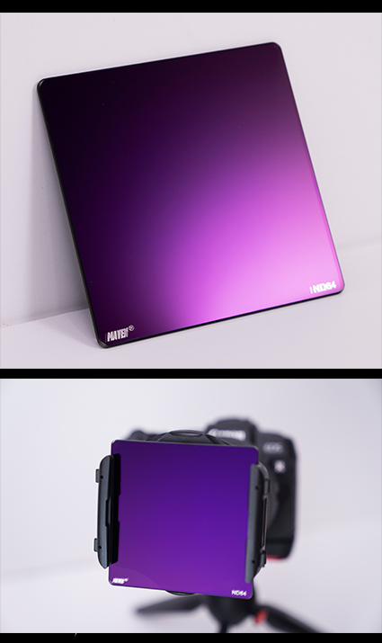 Maven 84x84mm ND64 Filters