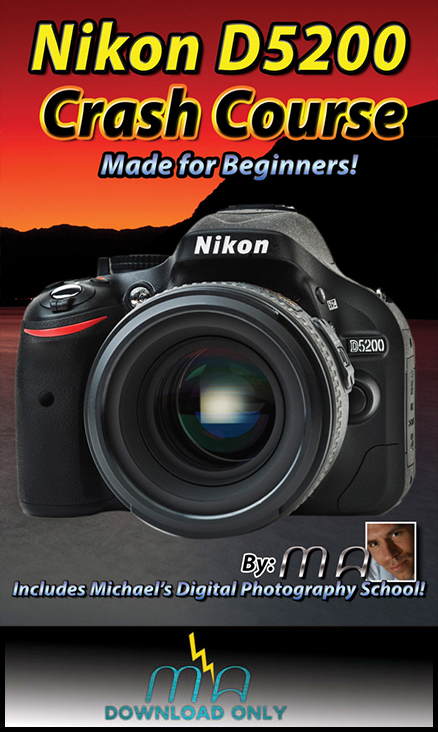 Nikon D5200 Crash Course - Download Only