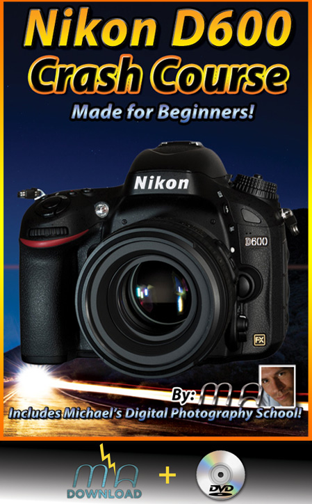 Nikon D600 Crash Course DVD + Download Combo