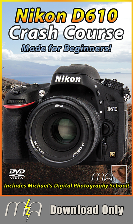 Nikon D610 Crash Course Download Only