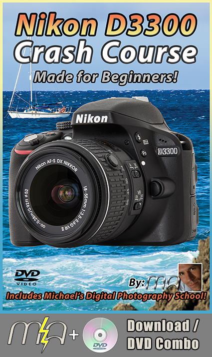 Nikon D3300 Crash Course DVD with Download