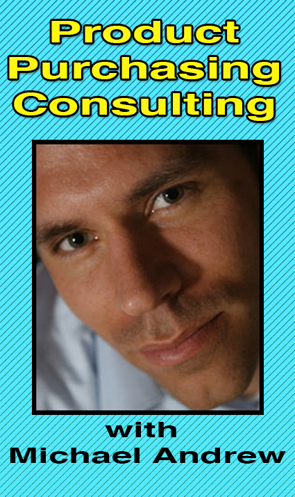 Product Purchasing Consulting with Michael Andrew