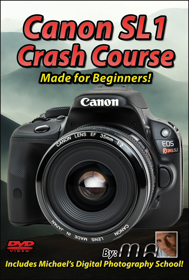 Canon Rebel SL1 Training Tutorial DVD & Download Canon SL1