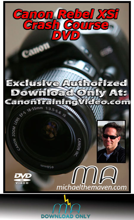 Canon Rebel XSi | XS | Crash Course Download | Get It Now!