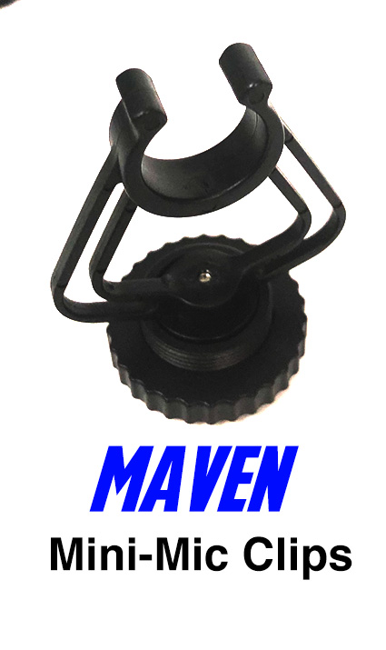 Maven Mini Mic Replacement Clip